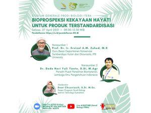 """Studium Generale 1, """"Bioprospeksi Kekayaan Hayati untuk Produk Terstandardisasi""""."""